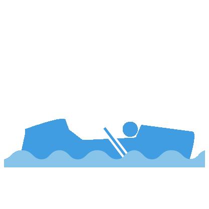 roeiboot pictogram