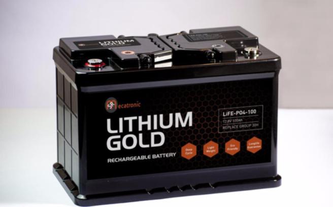 Lithium Gold accu